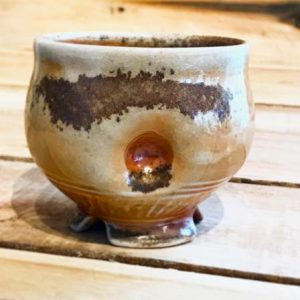 #02 reversed - woodfired Wine/Whisky cup