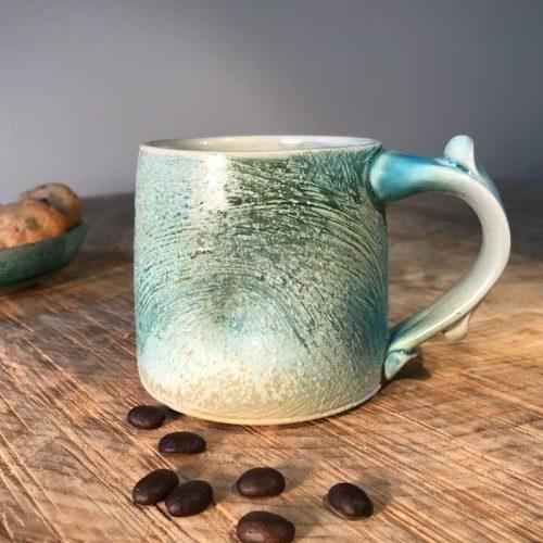handmade pottery mug #16