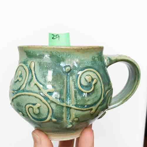 Green Cinderella Coach Mug