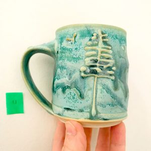 westcoast tree mug by cori sandler