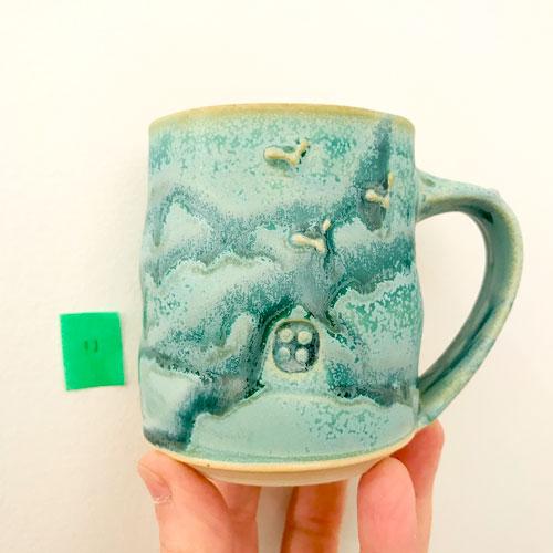 westcoast tree mug by cori sandler