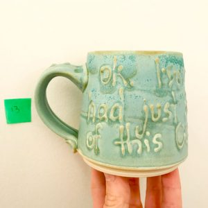 Enough of This Covid - Mug by Cori Sandler