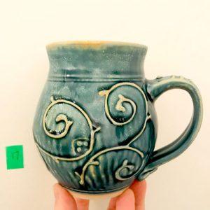 Cinderella Coach mug by Cori Sandler