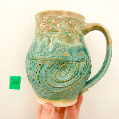 Doodle Mug by Cori Sandler